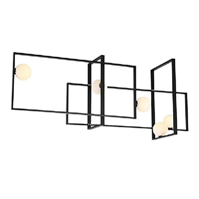 Mondrian Glas Deckenleuchte