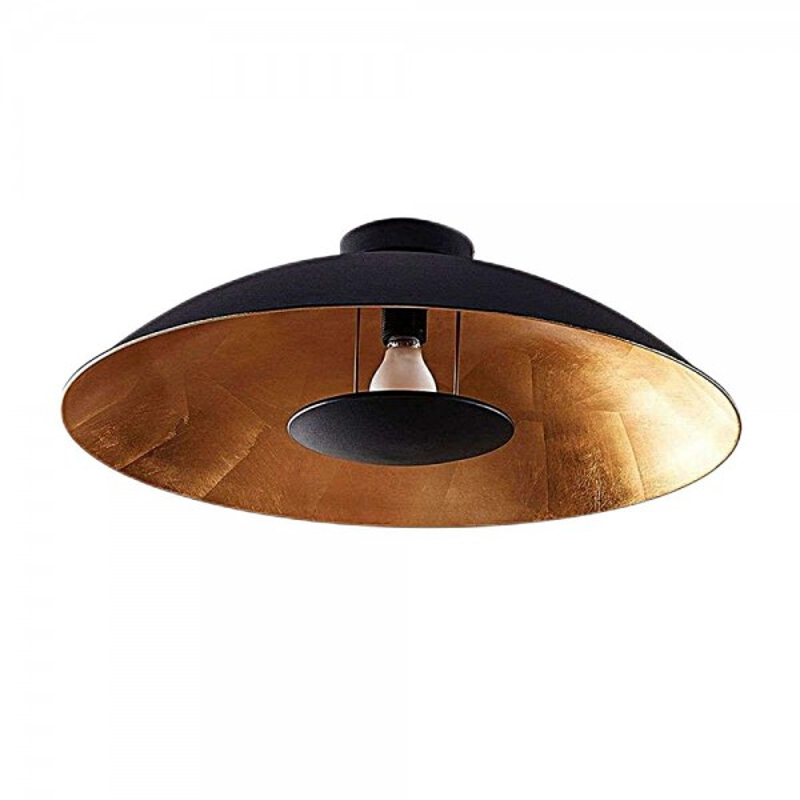 Modern Black-Golden Ceiling Light