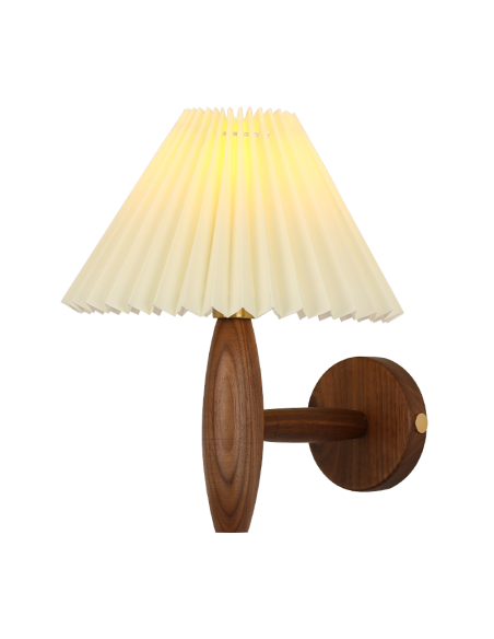 Wooden Wall Lamp