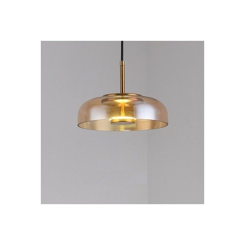Classic glass pendant lamp